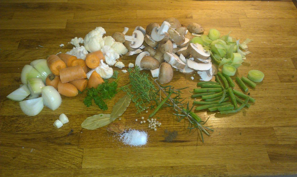 Ingredienten vegetarische bitterballen