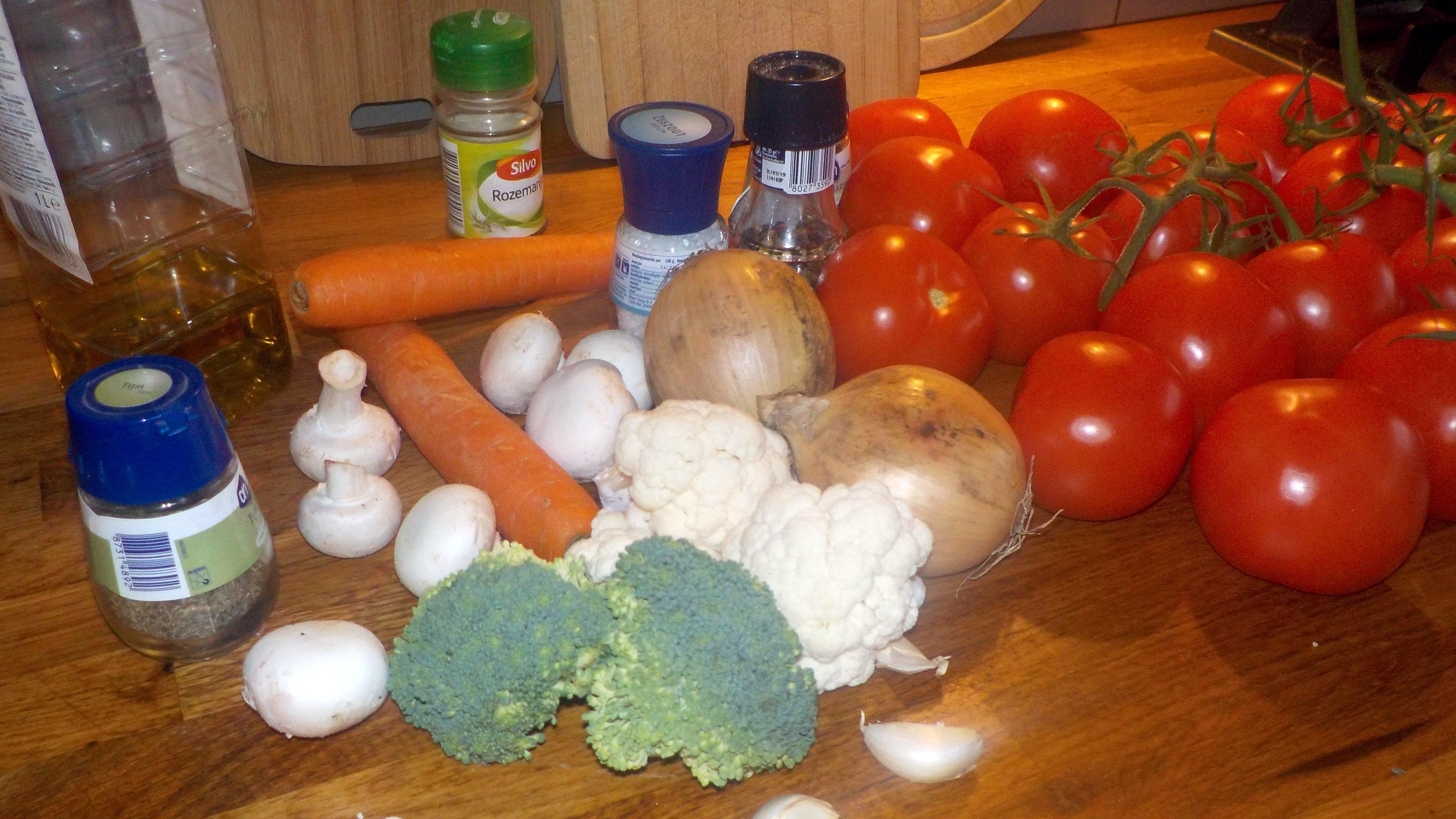 Supergezond! Vegetarische tomatensoep-groentesoep