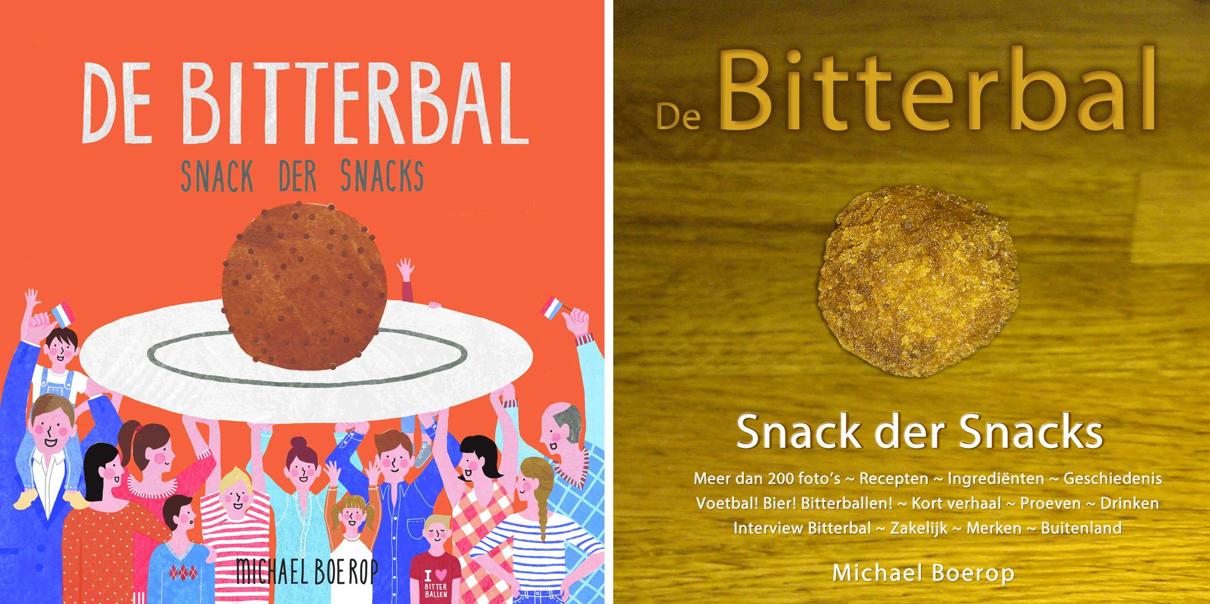 Boek De Bitterbal - Bitterballenboeken