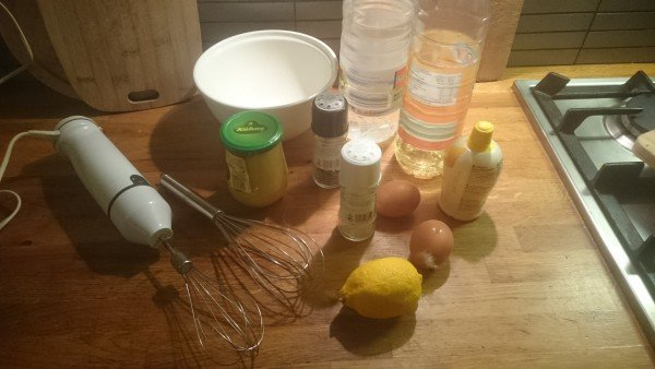 Mayonaise zelf maken - Recept