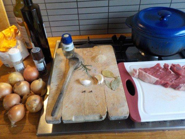 Ingrediëten uiensoep zelf maken