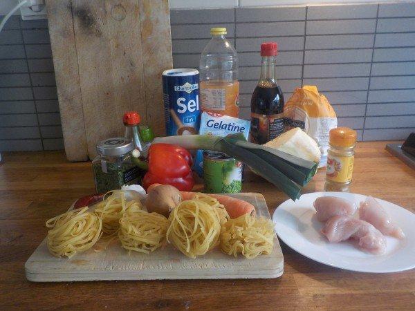 Ingrediënten en recept bamihap zelf maken - Recept bamischijf - bamiblok