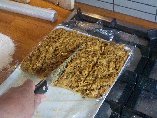 Bamihap zelf maken - Recept bamischijf - bamiblok