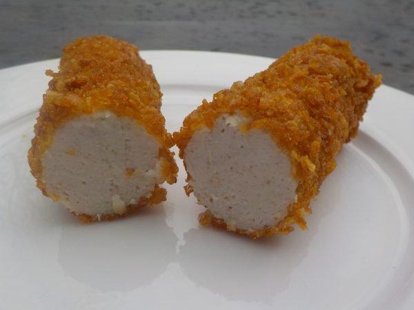 Kipcorn binnenste en crispy korst