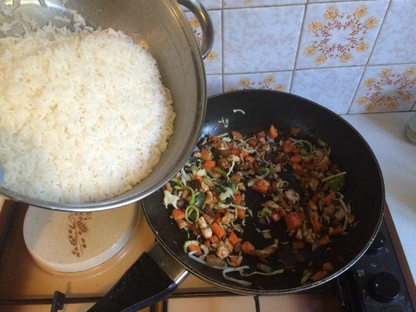 Nasi recept voor nasischijf