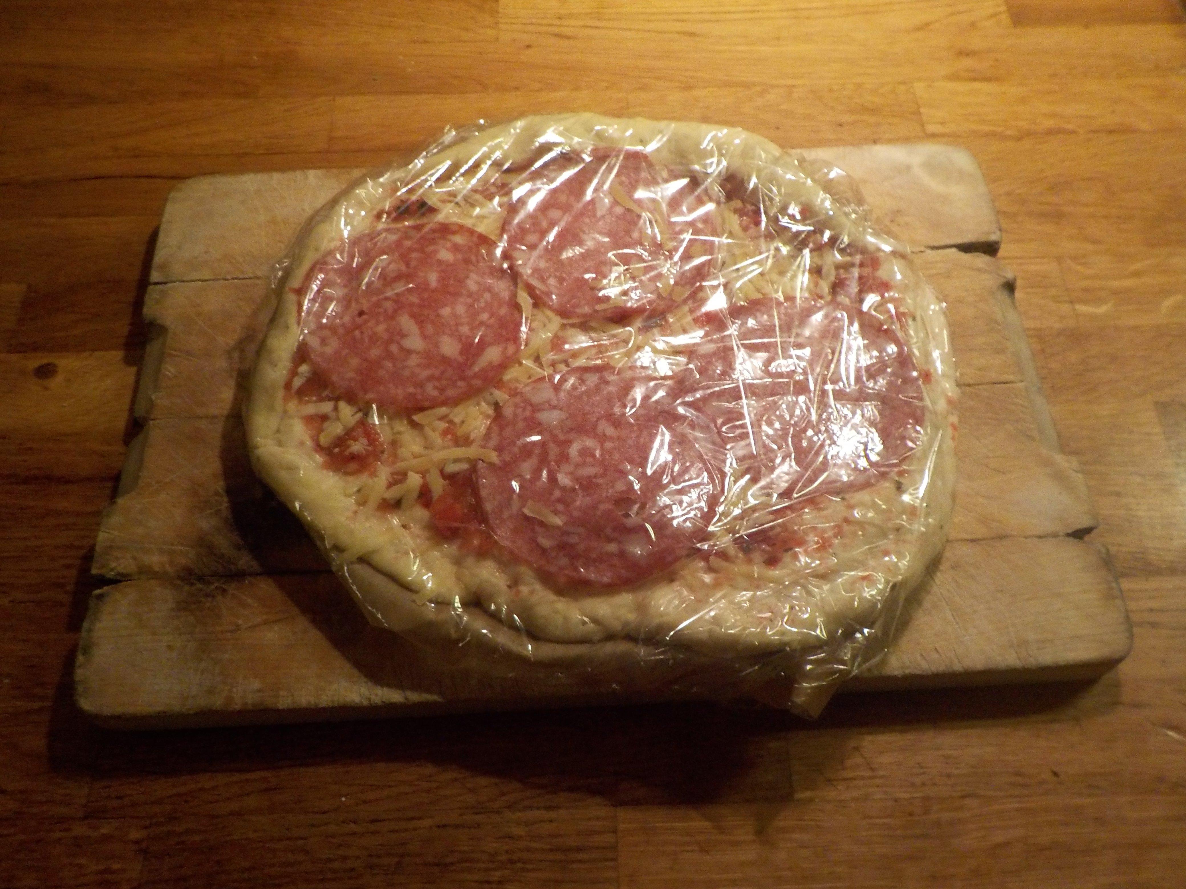 recept zelf pizza maken