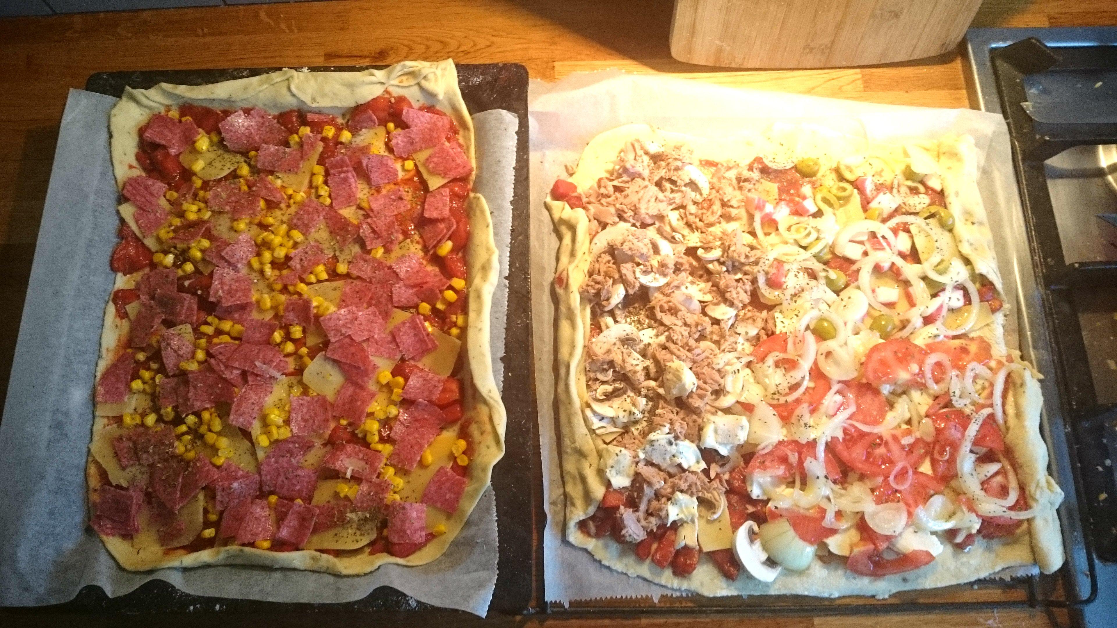 Kinderpizza maken - Recept