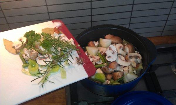 Vegetarische bouillon
