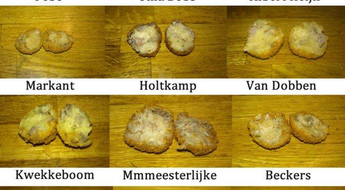 Van Dobben, Kwekkeboom, Holtkamp, Albert Heijn, Oma Bobs bitterballen