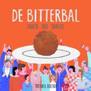 Prachtig ontwerp cover bitterballenboek