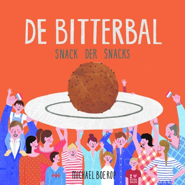 Boek De Bitterbal - Design cover illustrator Lize Prins