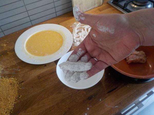Kipvingers recept - Kipvinger zelf maken