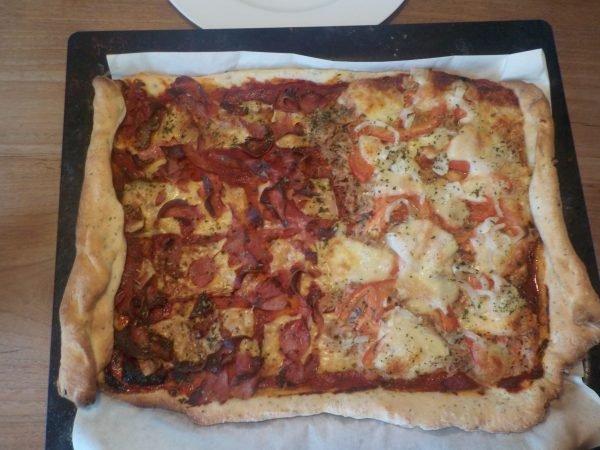 Pizza maken recept