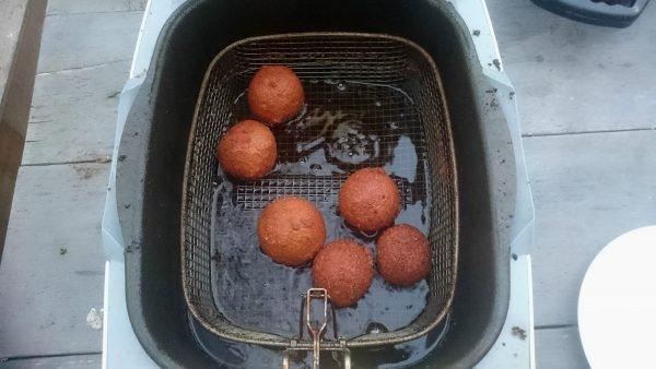 Shoarmabitterballen maken