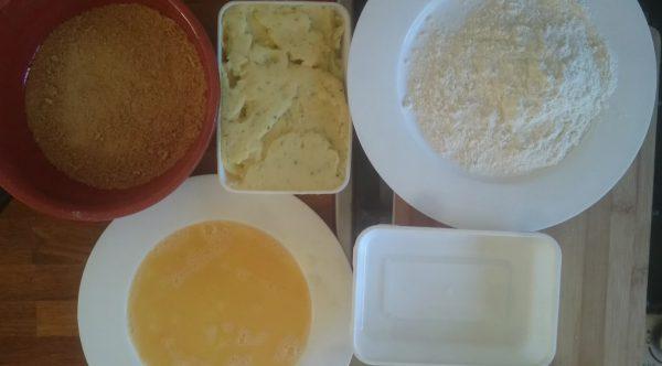 aardappelbitterballen maken recept